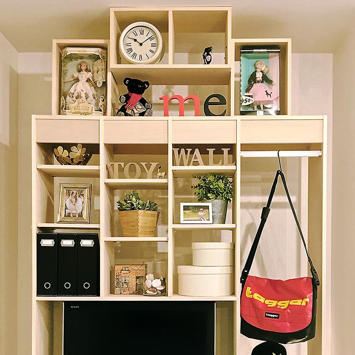 TVボードとしての利用も耐震設計なので安心。